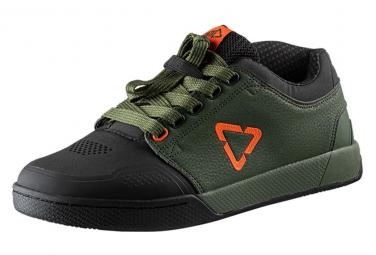 Chaussures LEATT DBX 3.0 Flat Green Forest