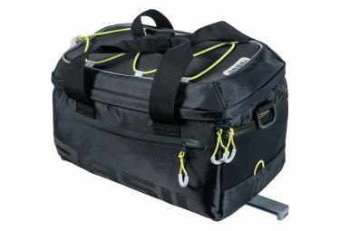 Basil Miles maletero MIK 7 litros negro amarillo