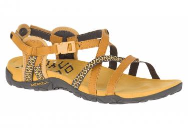 Sandales de randonnée Merrell Terran Lattice II Jaune Femme
