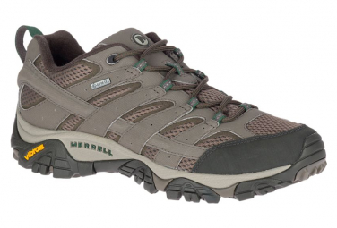 Merrell Moab 2 GTX Hiking Shoes Brown Khaki