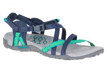 Sandales de randonnée Merrell Terran Lattice II Bleu Femme
