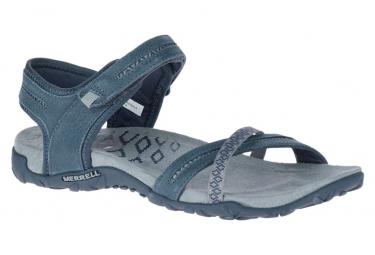Sandales de randonnée Femme Merrell Terran Cross II Bleu Gris