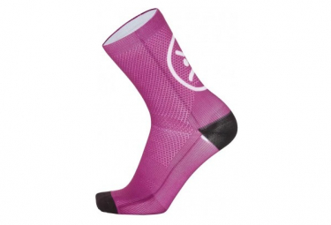 Chaussettes Mb Wear Smile Rose