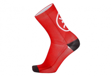 Chaussettes Mb Wear Smile Rouge