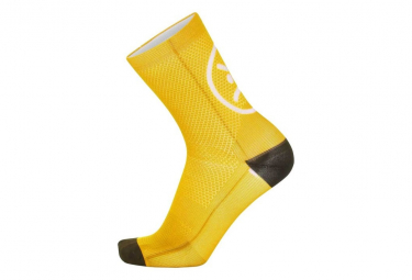 Image of Chaussettes mb wear smile jaune 35 40