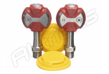 Paar automatische Speedplay Z ro Titanium Red Pales (mit begehbaren Stollen)