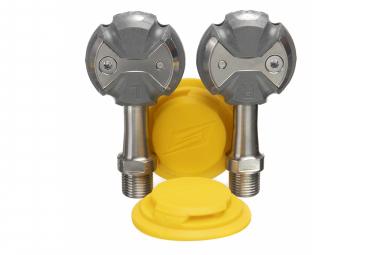 Pédales Speedplay Zéro Titanium Argent (Cales Walkable)
