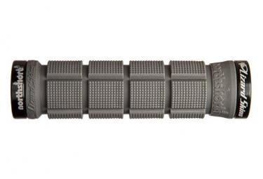 Poignées - Lock-On Northshore Grip - LIZARD SKINS - (Gris/Noir)