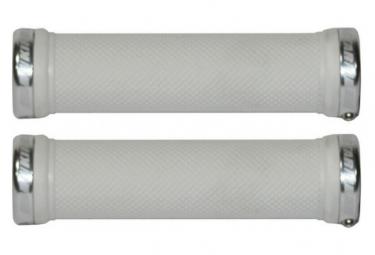 Poignées KINGSTAR 130mm diamant - KINGSTAR - (Blanc lock Blanc)