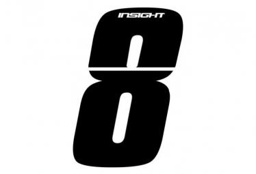 Numéros INSIGHT 10cm noir - INSIGHT - (8)