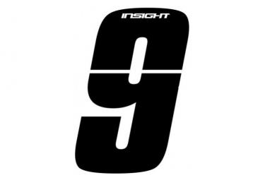 Numéros INSIGHT 10cm noir - INSIGHT - (9)