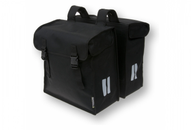 Basil Mara XXL double bicycle bag 47 liter black