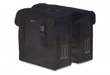 Basil Mara doble bolsa de bicicleta 35 litros negro XL
