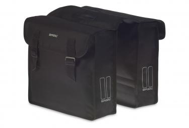 Basil Mara bicicleta doble bolsa 26 litros negro L