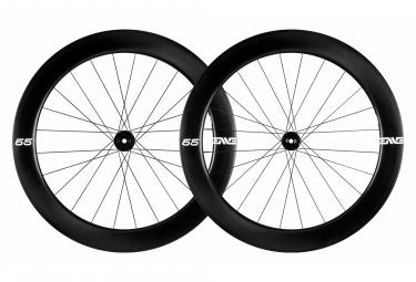 Paire de roues Enve Foundation 65 mm Disc | 12x100/142 | Tubeless