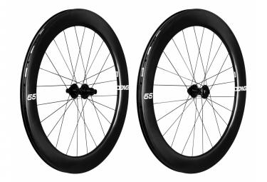 Paire de roues Enve Foundation 65 mm Disc   12x100/142   Tubeless
