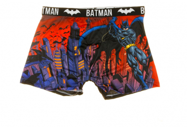 Boxer Noir Homme DC Comics Batman