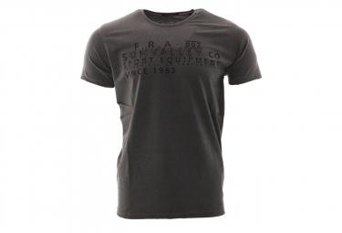 T-shirt gris foncé homme Sun Valley Siletz