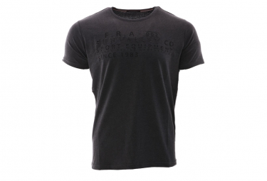 T-shirt noir homme Sun Valley Siletz