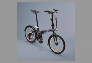 Vélo Pliant Btwin Velo Pliant  Panaché 7V Bleu 2020