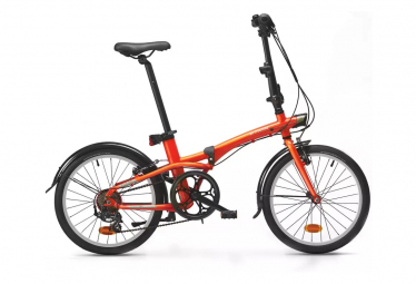 Bicicleta Pegable Btwin TILT 500 20'' Orange