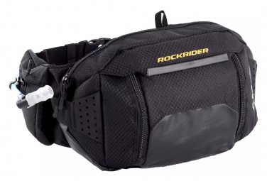 Rockrider Hydrabelt Black Hydration Belt