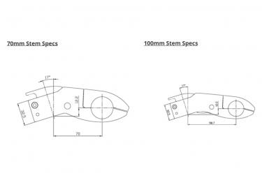 Potence Profile Design Aeria Ultimate V2 -17° 31.8 mm Noir