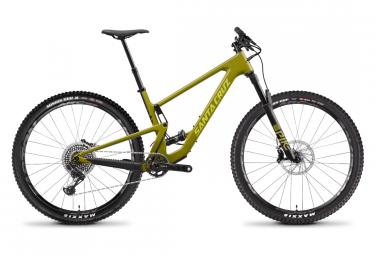 Santa Cruz Tallboy CC X01 29 '' Mountainbike mit Vollfederung | Sram X01 Eagle 12V | Rocksteady Yellow | 2020