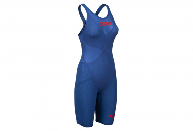 ARENA Women's Competition Swimsuit Powerskin Carbon Glide Blue