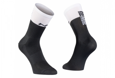 Par De Northwave Work Less Ride Mas Calcetines Negro   Blanco 36 39