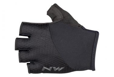 Par de guantes cortos Northwave Fast Grip Black