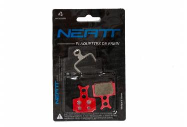 Paire de Plaquettes Neatt pour Formula One / Mega / R1 / R0 / RX / C1 / CR1 / CR3 / Cura