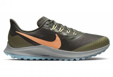 Nike Air Zoom Pegasus 36 Trail Khaki Orange Men