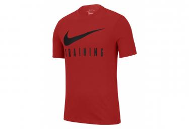 Nike Dri-Fit Training Red Short Sleeve Jersey Men