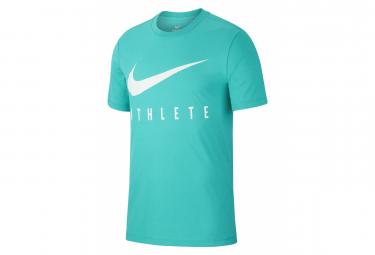 Nike Dri-Fit Athlete Green Men's Short Sleeve Jersey