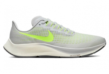 Nike Air Zoom Pegasus 37 Gray Yellow Mens
