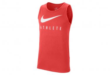 Débardeur Nike Dri-Fit Athlete Rouge Homme