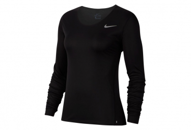 Maillot manches longues Nike Dri-Fit Noir Femme