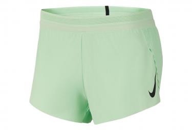Shorts Nike AeroSwift Green para mujer