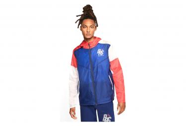 Nike Windrunner BRS Windbreaker Jacket Blue White Red Unisex