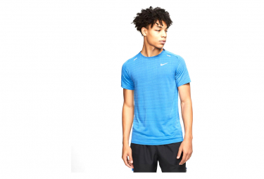 Nike TechKnit Ultra Blue Men's Short Sleeve Jersey