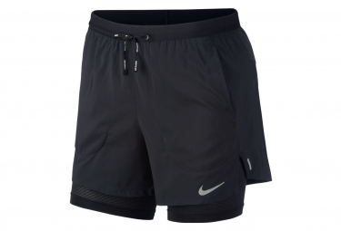 Short 2-en-1 Nike Flex Stride 5' Noir