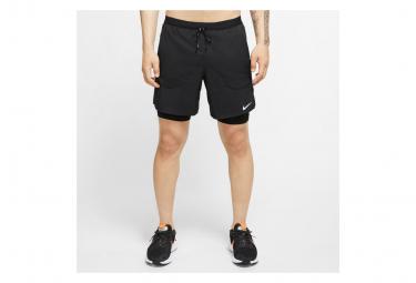 Short 2-en-1 Nike Flex Stride 7' Noir