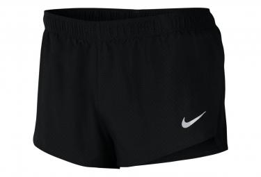 Pantalon Corto Nike Fast 2   39 Negro M