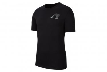 Nike Dri-Fit Wild Run Short Sleeve Jersey Black Mens