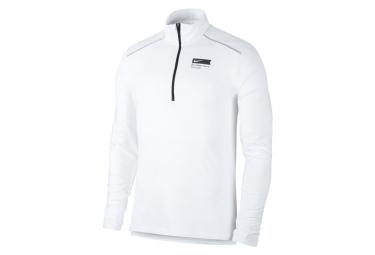 Nike Element BRS 1/2 Zip Long Sleeve Jersey White Men