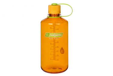 Botella nalgene boca estrecha naranja 1l