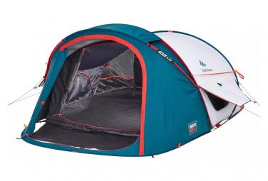 Tente Quechua 2 Secondes XL 2 Personnes Bleu Blanc