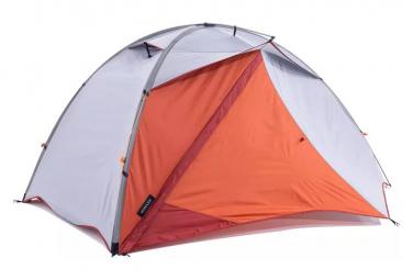Tente Forclaz Trek 500 Autoportante 2 Personnes Gris Orange