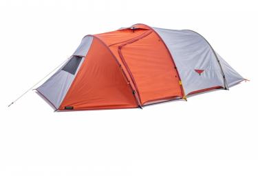 Tente Forclaz Trek 500 Autoportante 4 Personnes Gris Orange